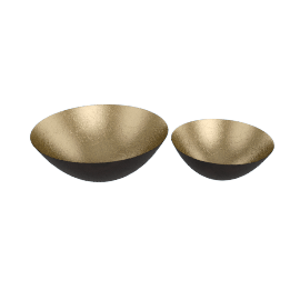 Large Form Bowls, Set of 2