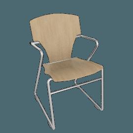 Egoa Armchair - Wood