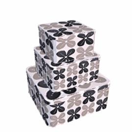 Tiles Cake Tins, Set of 3