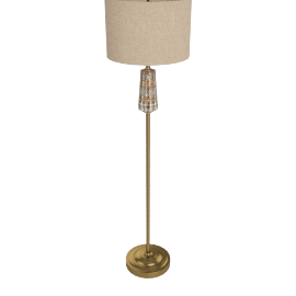 Adhara Resin Floor Lamp 154Cmh -Bronze