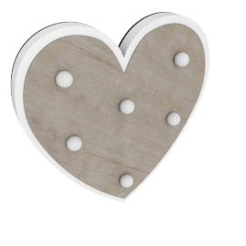 Eli Heart Wall Light