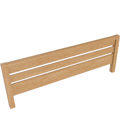 Montana Headboard Kingsize, Oak