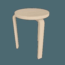 Aalto Stool, Birch Veneer