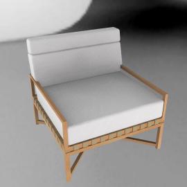 Rusa Club Chair - Teak
