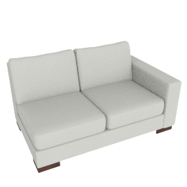 Signature 2 Seater with Right Arm, Dove