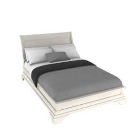 Aurelia Low End Bedstead, Double