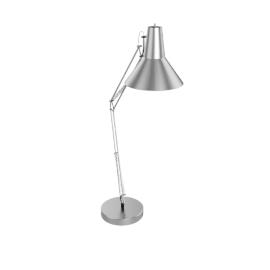 Brooklyn Giant Floor Lamp, Silver