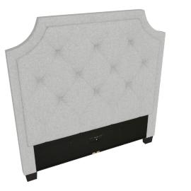 Stellar Neo Single Headboard, Grey
