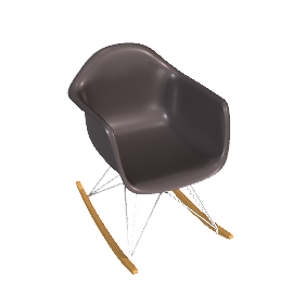 Eames® Molded Plastic Rocker - RAR