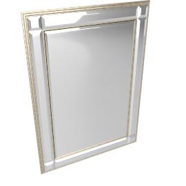 Marni Mirror, Champagne, 91 x 66cm