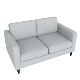 Lenon 2-Seater Sofa, Grey
