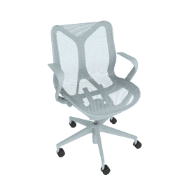 COSM Chair Low-Back, Glacier