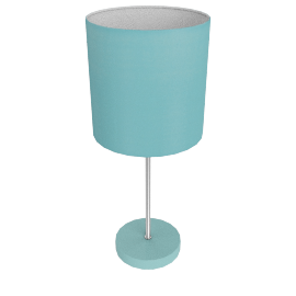 Adley Table Lamp, Light Blue