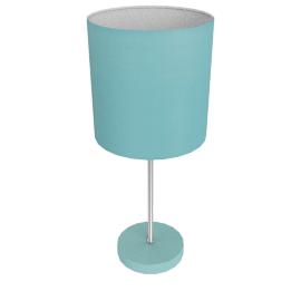 Adley Table Lamp, Light Blue