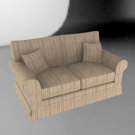 Padstow Medium Sofa, Stripe