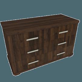 Optec 6-Drawer Dresser