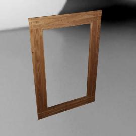 Stockholm Wall Mirror, Ash, 138 x 91cm