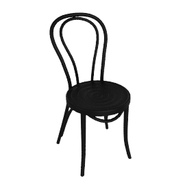 Cafe Chair, Black