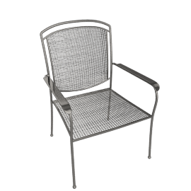 Royal Garden Classic Chair, Wrought Iron