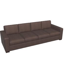 Portola Sofa - 102 in Ultrasuede
