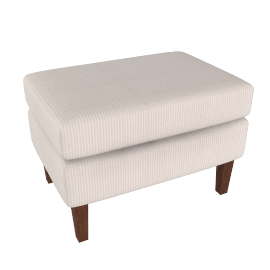 Townhouse Footstool, Natural