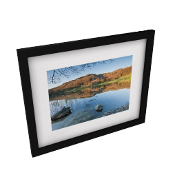 James Bell - Loughrigg Tarn Framed Print, 44 x 54cm