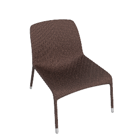 Scoop Lounge Chair - Bronze