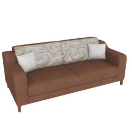 Karo 3-seater Sofa Bed