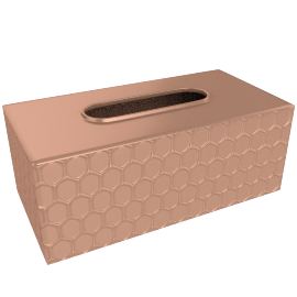 Coppercomb Tissue Box Cover