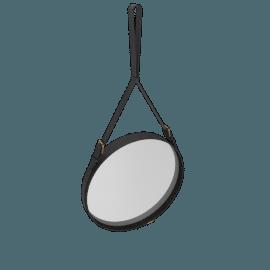 Adnet Mirror, Medium - Black