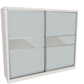Axis Sliding Door Wardrobe