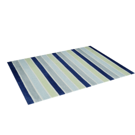 Luke Striped Rug - 120x160 cms, Multicolour