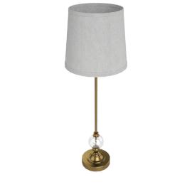 Snowdrop Crystal Ball Table Lamp