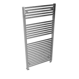 Heated Towel Rail 1212 x 600, chrome