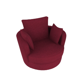 Leon swivel loveseat