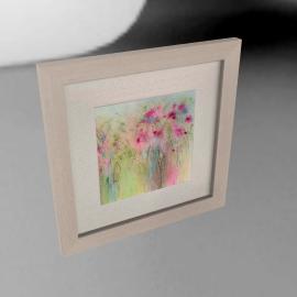 Sue Fenlon- Dolly Mixture Flowers Framed Print, 35 x 35cm