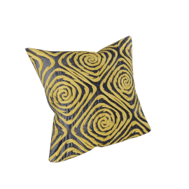 Sunshine Embroidered Cushion Cover - 45x45 cms