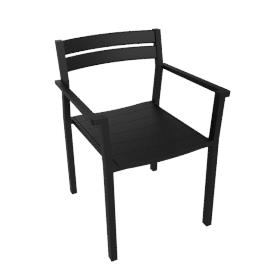 Eos Armchair - Black
