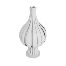 Onion Table Lamp - White