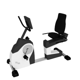 Bremshey Control Recumbent Exercise Bike