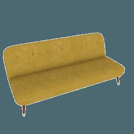 Margot Sofa Bed, Antique Gold Velvet