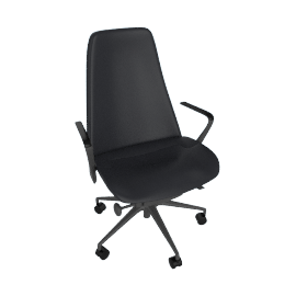 Taper Chair, Graphite/Black