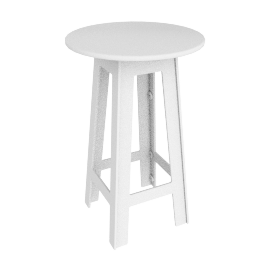 Fresh Air Bar-Height Table, White