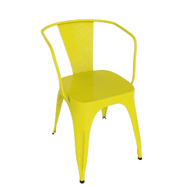 Marais A56 Armchair - Lemon