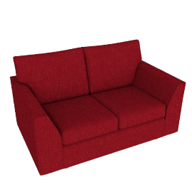 Jacob Small Sofa, Bowden Cranberry
