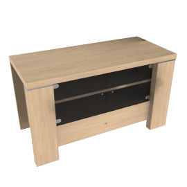 Strata TV Unit, Maple