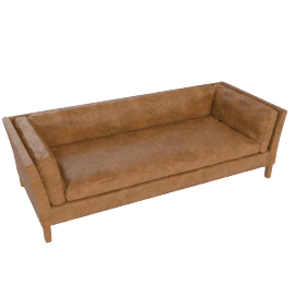 Halo Groucho Large Sofa, Walnut