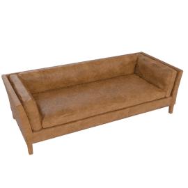 Halo Groucho Large Sofa, Walnut