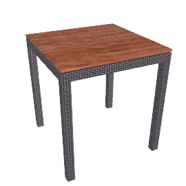 Ollie Bar-Height Table - Pearl.Grey