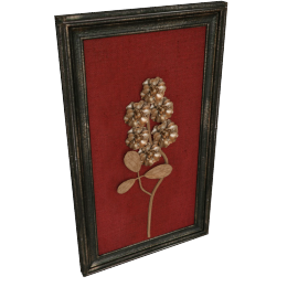 Floral Solo Wall Decor - 36x5x61 cms